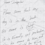 "This is a typical home owner note. Please note that the dog is ""friendly yet protective.""  Home inspectors are strangers on the animals property and sometimes met with a growl or bark. I have not been bit as a home inspector but I have had some close calls.  If you are scheduling a home inspection in the El Paso area you should restrain your pets. Home inspectors like to go home in one piece to their families."