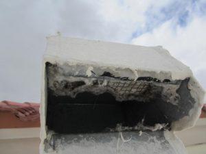 screened dryer vent