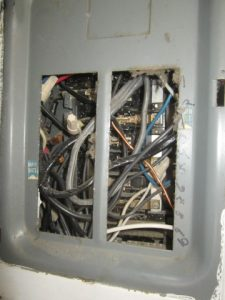 Nightmare electrical panel