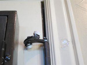 door stop damage