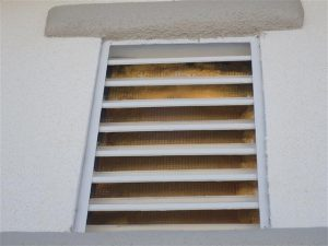 Gable Vent Covered